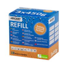 ABSODRY REFILL 3X450 FRESH